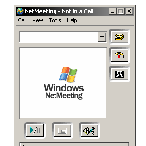 I'm Tipping My Hat To You, Microsoft NetMeeting
