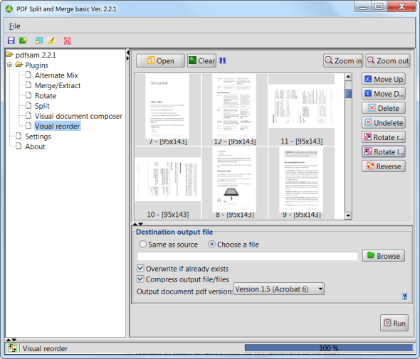 Use PDFSam To Easily Split, Merge, & Reorder PDF Pages