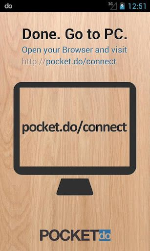 pocket do1   PocketDo: Remote Control Android From Your Computer's Browser