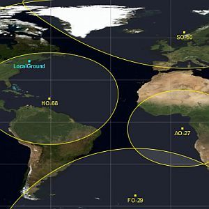 Track & Predict The Path Of Satellites Live Using Gpredict [Windows]