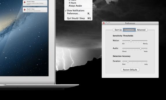 macbook prevent sleeping