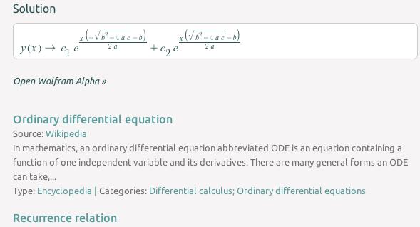 equation search engine