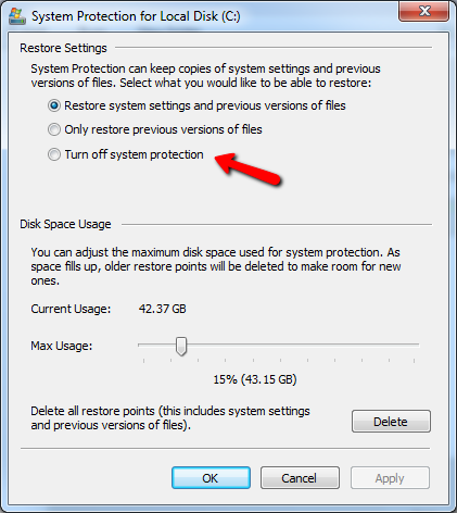 how does windows system restore work