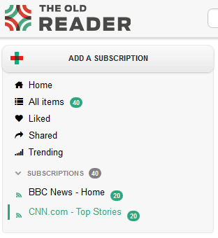 the old reader   The Old Reader: A Convenient RSS Reader Like The Old Google Reader