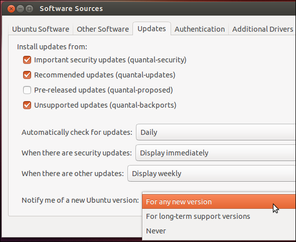 updating ubuntu kernel