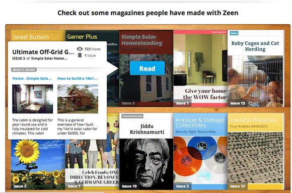 make beautiful web magazines