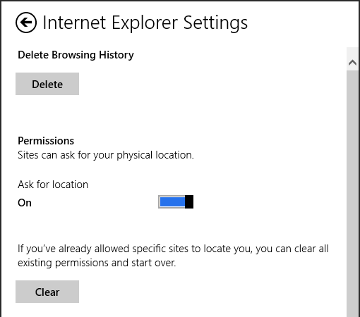 internet explorer 10 tips