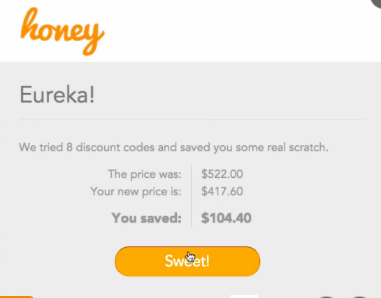 3   Honey: Saves You Money By Automatically Finding The Best Coupon Codes Online