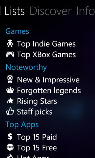 new windows phone apps