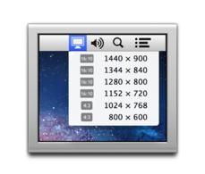 change mac display settings