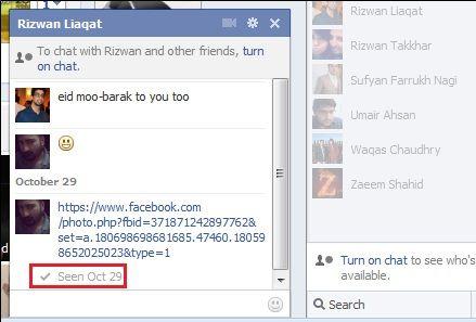 disable read receipt facebook