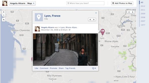 how to use facebook places
