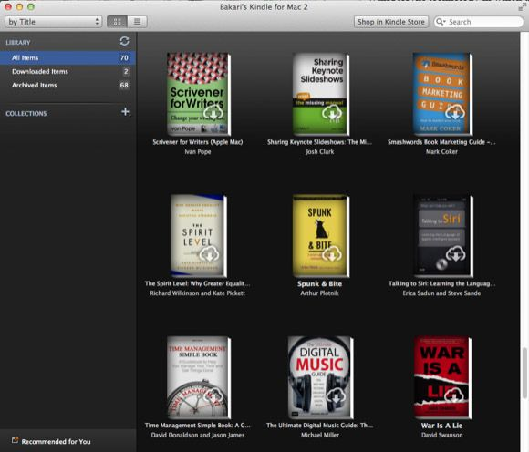 ibooks features
