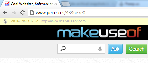 save a copy of a web page