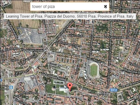 google street view look up