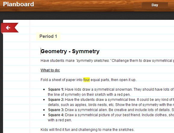 Planboard   Planboard: A Web App To Help Teachers Plan Their Lessons