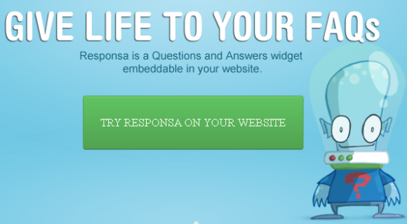 questions and answers widget