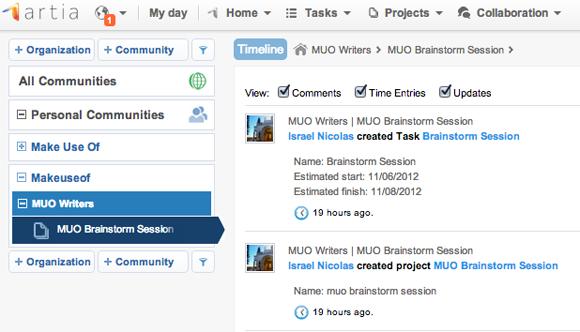 social project management tools
