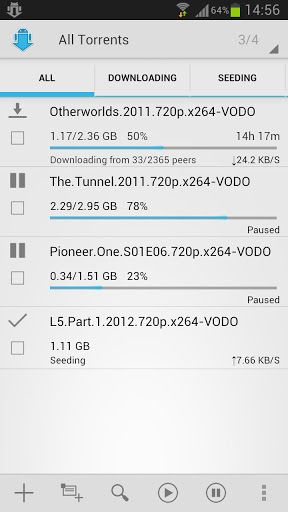 torrent client android