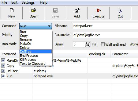 program create batch files