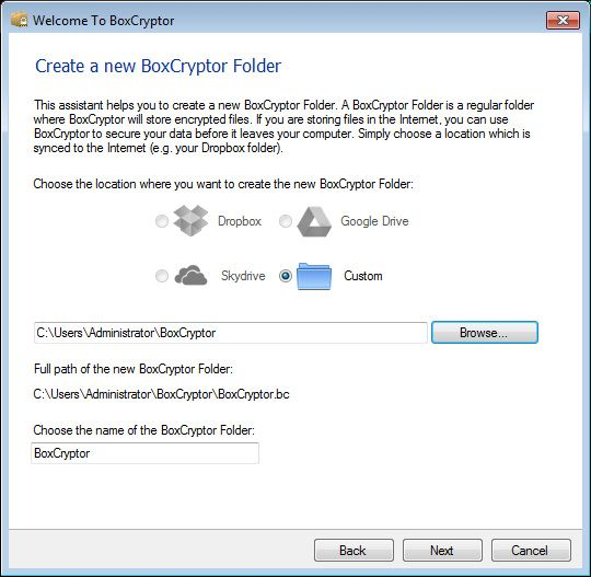BoxCryptor: Keep Your Cloud Storage Safe With Powerful Encryption [Giveaway] boxcryptor install detect