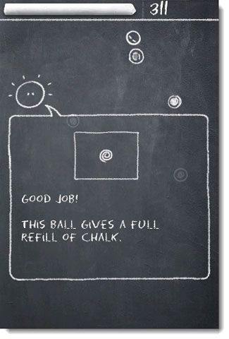 Go Back To The Blackboard And Play The Bouncing Game All Day With Chalk Ball Lite
