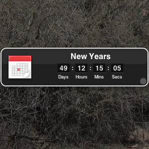 Know How Long It Is Till Something Using The Dashboard Countdown Widget [Mac OSX]