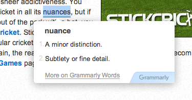 grammarly smart spellchecker