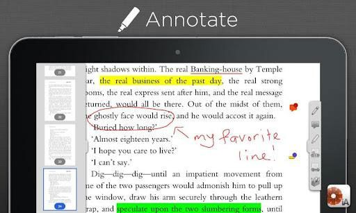 iAnnotate PDF: Save, Read & Annotate PDF Documents [ iOS & Android Tablets] (5 Free Licences) iannotate