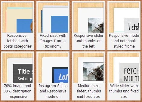 jQuery Slider Shock: A Responsive jQuery Slider With Many Layouts & Other Options jquery slider2