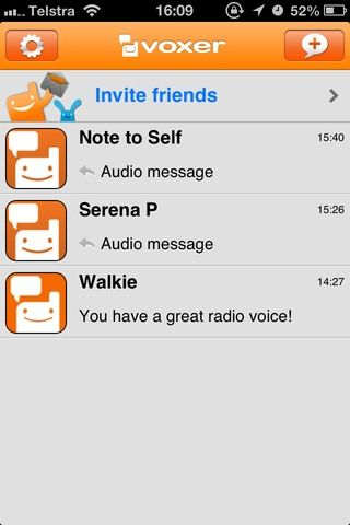walkie talkie for android