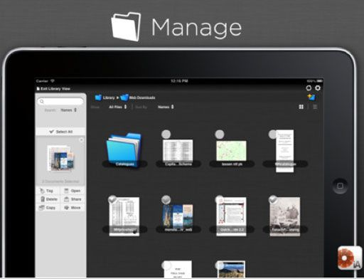 manage   iAnnotate PDF: Save, Read & Annotate PDF Documents [ iOS & Android Tablets] (5 Free Licences)