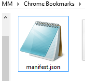 The Idiot's Guide To Adding Website Bookmarks On Your Google Chrome New Tab Page manifestjson