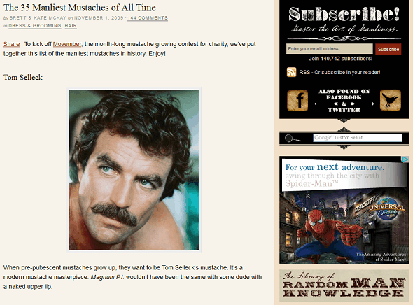 Celebrate Movember & The Magnificence Of Mustaches With These Web Resources manliest mustaches