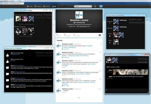 MetaWeb: Interact With Other People While Browsing Your Favourite Sites metaweb on twitter medium