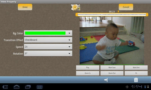 create movies android