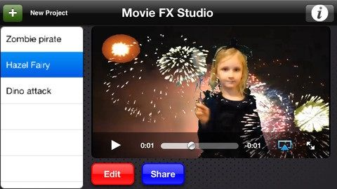 moviefx   Green Screen Movie FX Studio: Use Your iPhone To Add Special Effects To Your Videos [10 Free Licences]