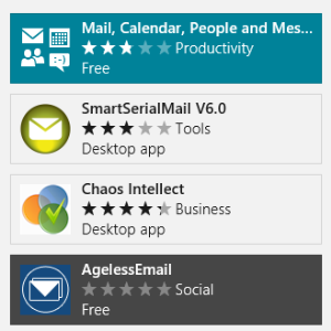 Email Goes Modern: Three Windows 8 Email Apps