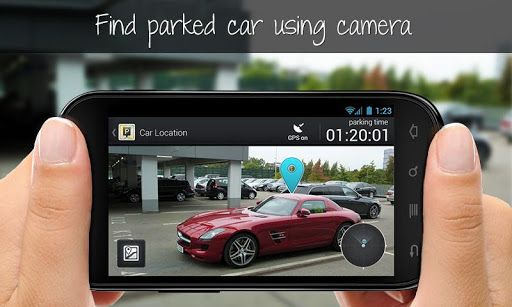 parking   Park Me Right: Never Forget Where You Parked Your Car Again [Android]