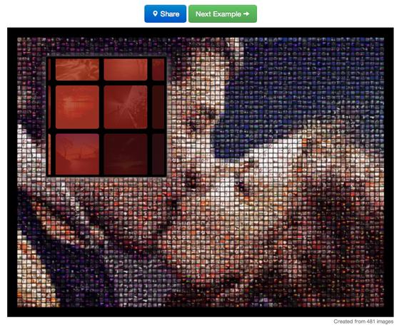 photomosaic 2   Printmosaic: Create Mosaics From Facebook & Instagram Pictures