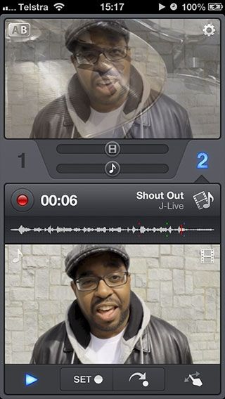 iphone audio mixing