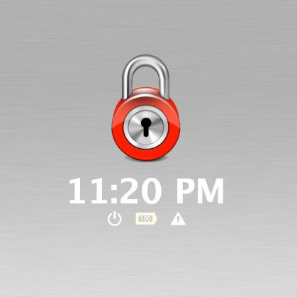 easily lock mac