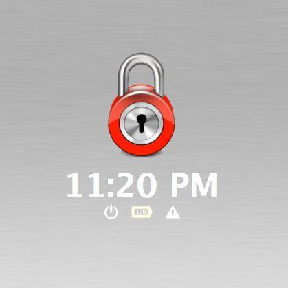 easily lock mac