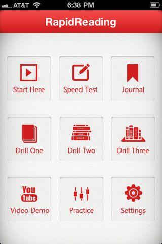 speed reading drills