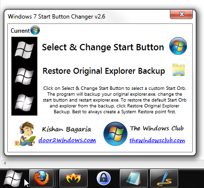 windows 7 start