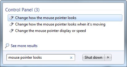 replace mouse cursor image