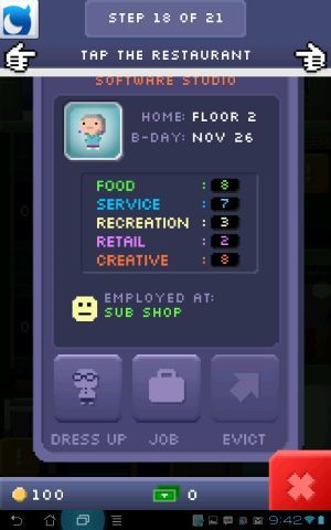 tiny tower for android