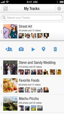 tracks   Tracks: Upload Photos & Discover Friends Images Of Same Events [Android & iOS]