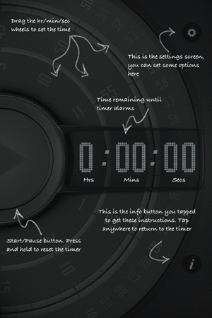 kitchen timer iphone