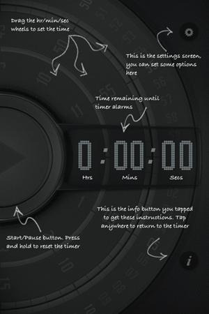 wave timer 3   Wave Timer: Hands Free Kitchen Timer [iPhone]